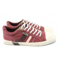 Мъжки спортни обувки S.Oliver 5-13609-28 бордо | Мъжки немски обувки | MES.BG