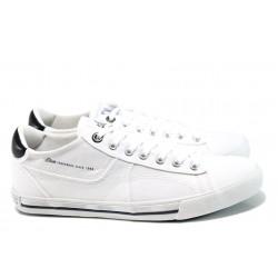 Мъжки спортни обувки S.Oliver 5-13632-28 бял | Мъжки немски обувки | MES.BG