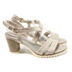 Елегантни дамски сандали Marco Tozzi 2-28705-28 розов | Немски сандали на ток | MES.BG