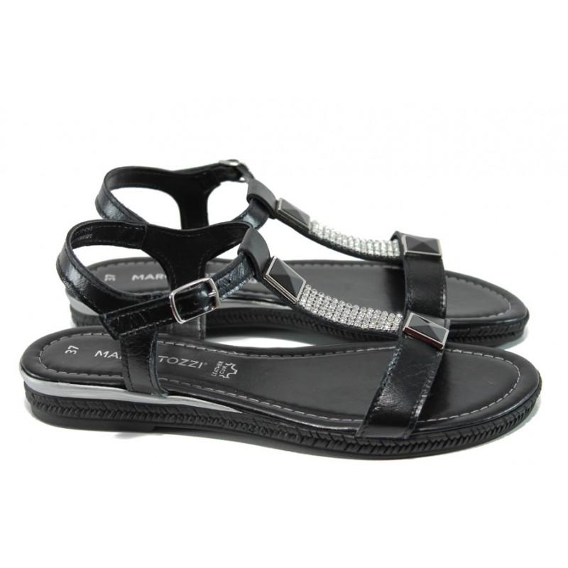 große sorten Top-Mode heiß-verkauf freiheit Дамски сандали от естествена кожа Marco Tozzi 2-28133-28 ...