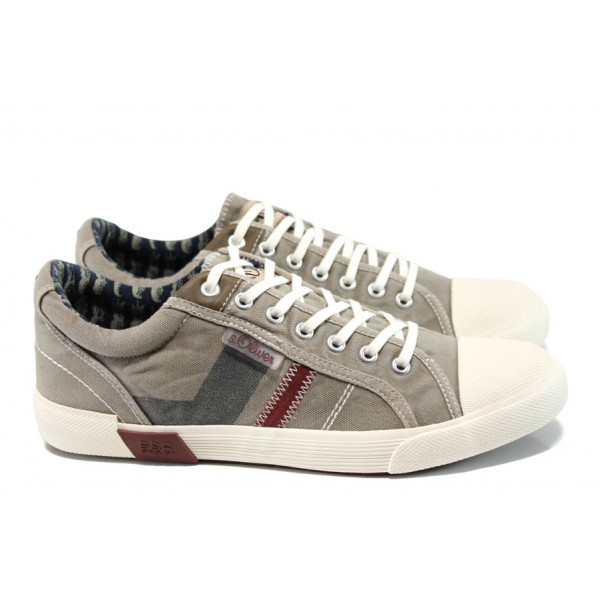 Мъжки спортни обувки S.Oliver 5-13609-28 бежов | Мъжки немски обувки | MES.BG