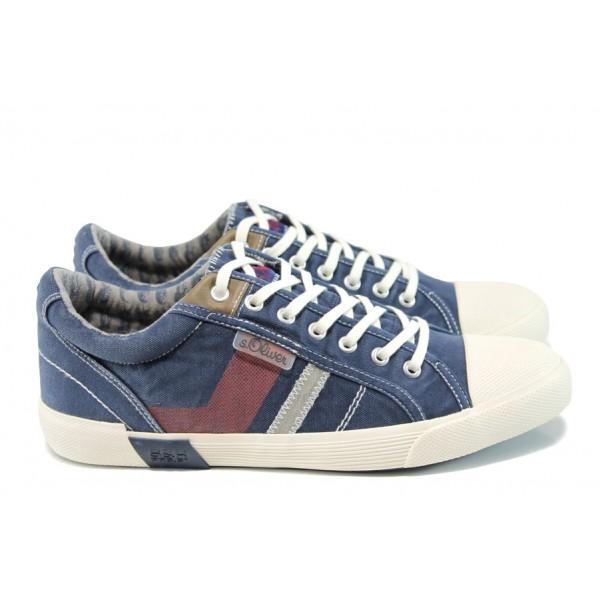 Мъжки спортни обувки S.Oliver 5-13609-28 син   Мъжки немски обувки   MES.BG