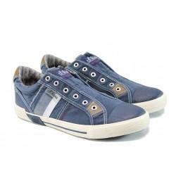 Мъжки спортни обувки S.Oliver 5-14600-28 син | Мъжки немски обувки | MES.BG