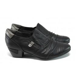 Дамски обувки на ток Jana 8-24361-29Н черен | Немски обувки на ток | MES.BG
