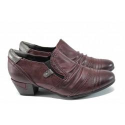 Дамски обувки на ток Jana 8-24361-29Н бордо | Немски обувки на ток | MES.BG