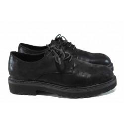 Равни дамски обувки S.Oliver 5-23621-29 черен | Равни немски обувки | MES.BG