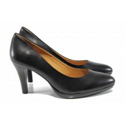 Дамски обувки на висок ток Caprice 9-22411-29 черен | Немски обувки на ток | MES.BG