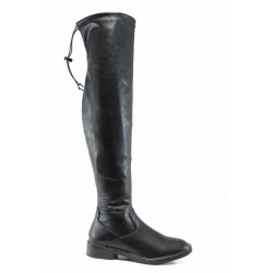 Дамски ботуши тип чизми S.Oliver 5-25606-29 черен | Немски ботуши | MES.BG