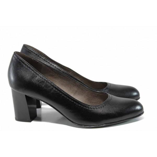 Дамски обувки на висок ток Jana 8-22401-20 черен | Немски обувки на ток | MES.BG