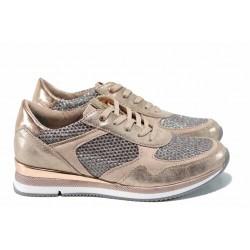 Дамски спортни обувки с мемори пяна Marco Tozzi 2-23701-30 розов | Равни немски обувки | MES.BG