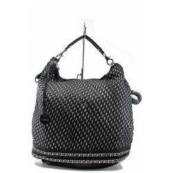 "Дамска чанта тип-""торба"" ФР 082 черен | Дамска чанта | MES.BG"