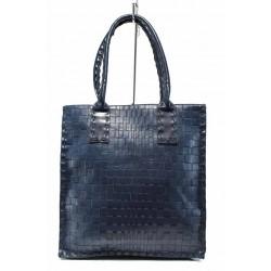 Ежедневна дамска чанта ФР 2671 син | Дамска чанта | MES.BG