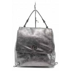 Модерна дамска раница ФР 801 сребро | Дамска чанта | MES.BG