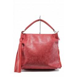 Българска дамска чанта СБ 1205 червен | Дамска чанта | MES.BG