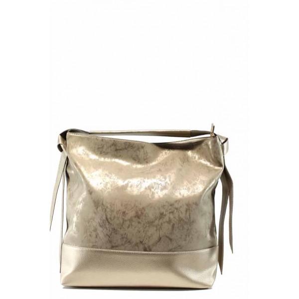 Българска дамска чанта СБ 1203 златен мейс | Дамска чанта | MES.BG