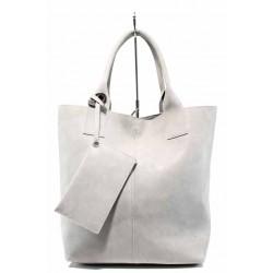 Българска дамска чанта СБ 1199 сив | Дамска чанта | MES.BG