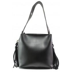 Българска дамска чанта СБ 1234 черен   Дамска чанта   MES.BG