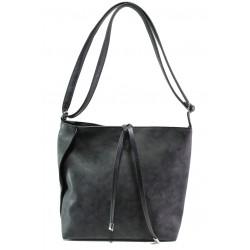 Българска дамска чанта СБ 1249 черен | Дамска чанта | MES.BG