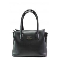 Българска дамска чанта СБ 1250 черен | Дамска чанта | MES.BG