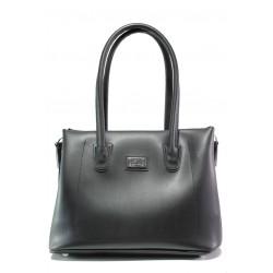 Българска дамска чанта СБ 1251 черен | Дамска чанта | MES.BG