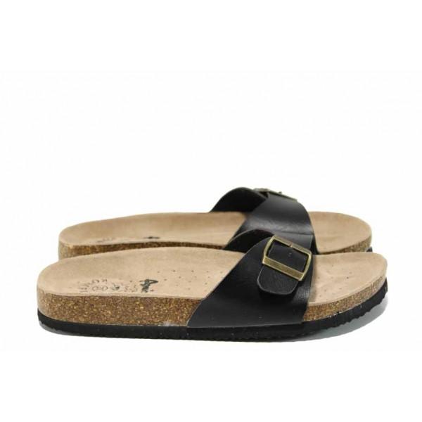 Анатомични дамски чехли АБ 18-05 черен | Дамски чехли | MES.BG
