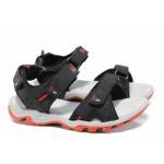 Анатомични детски сандали АБ 8558 черен 31/35 | Детски чехли и сандали | MES.BG