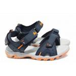 Анатомични детски сандали АБ 8558 т.син 31/35 | Детски чехли и сандали | MES.BG