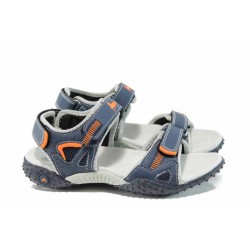 Анатомични детски сандали АБ 1712 син 32/36 | Детски сандали | MES.BG