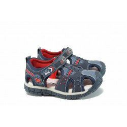 Анатомични детски сандали АБ 93594 син 25/30 | Детски сандали | MES.BG
