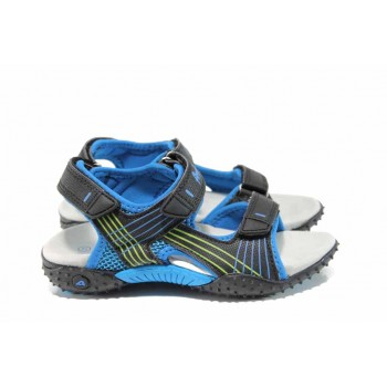 Анатомични детски сандали АБ 5261 черен-син 27/31 | Детски сандали | MES.BG