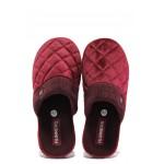 Анатомични дамски чехли Runners 182-150136 бордо | Домашни чехли | MES.BG