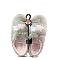 Анатомични дамски чехли Runners 182-2 бежов | Домашни чехли | MES.BG