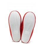 Анатомични дамски чехли Runners 182-2 червен | Домашни чехли | MES.BG