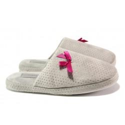 Анатомични дамски чехли РС 182-809 сив | Домашни чехли | MES.BG