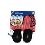 Анатомични дамски чехли Defonseca ROMA TOP W432 червен сърца | Домашни чехли | MES.BG