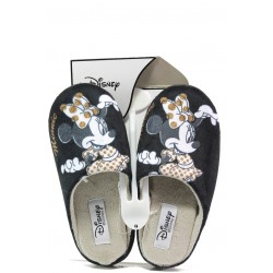 Анатомични дамски чехли с мемори пяна Defonseca TORINO W470 черен Disney | Домашни чехли | MES.BG