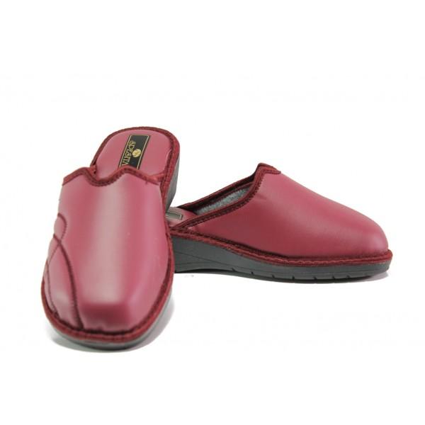 Анатомични дамски чехли Spesita 303 бордо | Домашни чехли | MES.BG