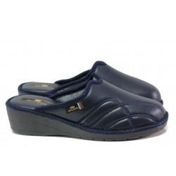 Анатомични дамски чехли Spesita 303 т.син | Домашни чехли | MES.BG