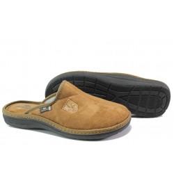 Анатомични мъжки чехли Spesita 397 камел | Домашни чехли | MES.BG