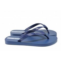 Равни дамски чехли Ipanema 82071 син | Бразилски чехли | MES.BG