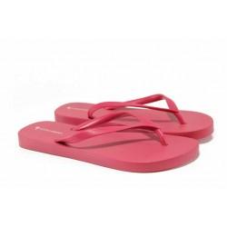 Равни дамски чехли Ipanema 82381 розов | Бразилски чехли | MES.BG