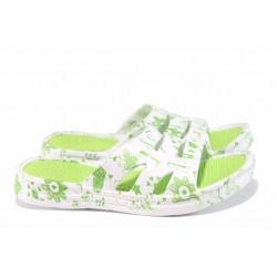 Дамски джапанки с олекотено ходило РС 181-16561 зелен | Дамски джапанки и чехли | MES.BG