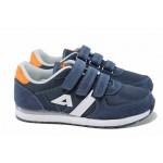 Анатомични детски маратонки АБ 2922 т.син 32/36 | Детски маратонки | MES.BG