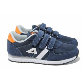 26577c454d4 Анатомични детски маратонки АБ 2922 т.син 32/36 | Детски маратонки | MES