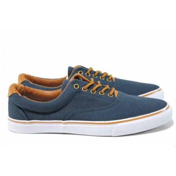 Мъжки спортни обувки АБ 18-65 т.син | Мъжки ежедневни обувки | MES.BG