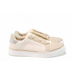 Дамски спортни обувки с модерна визия АБ 17391 розов | Дамски маратонки | MES.BG