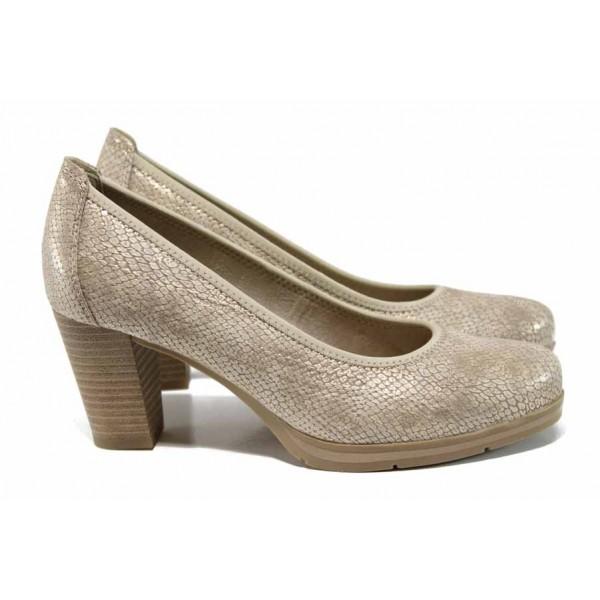 Дамски обувки на висок ток Jana 8-22408-20H бежов | Немски обувки | MES.BG