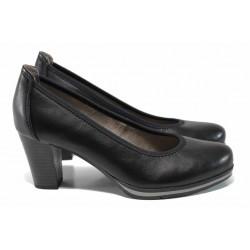 Дамски обувки на висок ток Jana 8-22408-20H черен | Немски обувки | MES.BG