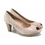 Елегантни дамски обувки Marco Tozzi 2-29302-20 розов | Немски обувки на ток | MES.BG