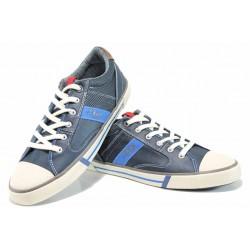 Мъжки кецове с FLEX система S.Oliver 5-13602-20 т.син | Мъжки немски обувки | MES.BG